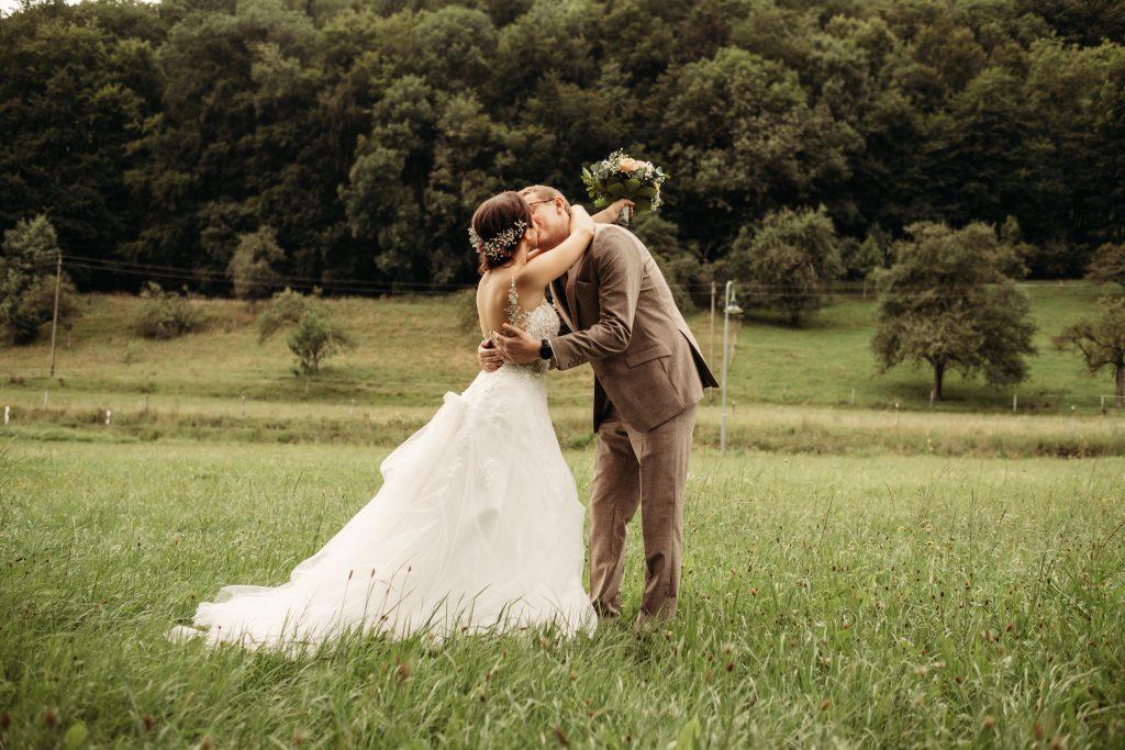 DasFirstlook shooting, bei der Hochzeitsreportage von Stefan und Alena